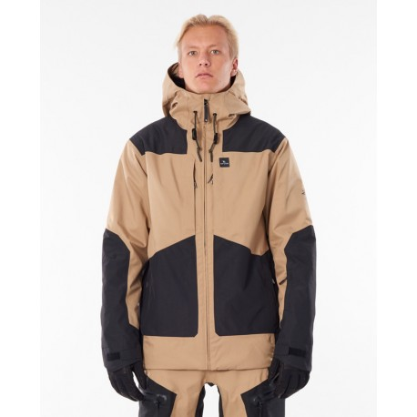 Rip Curl Pow Search Snow Jacket Stone