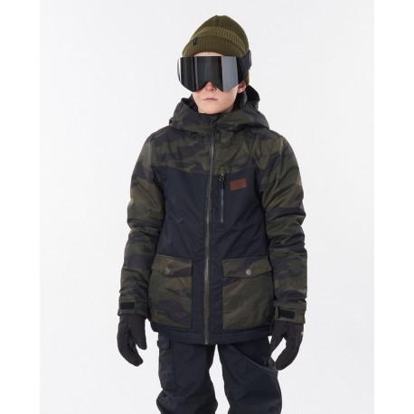 Rip Curl Snake Snow Jacket Camo